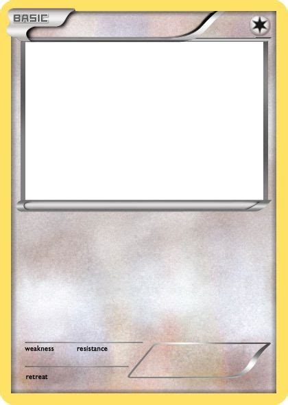 trading card template without energy type create a card challenge pok 233 mon amino