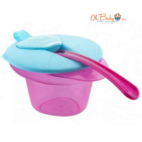 Tommee Tippee Mash Cool Bowl tommee tippee explora cool and mash weaning bowl