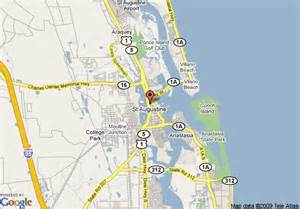 map of downtown st augustine florida days inn historic downtown st augustine augustine