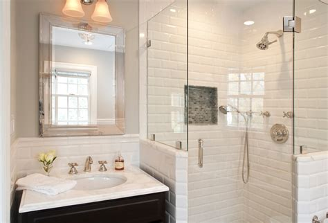 tips on choosing the white subway tile for bathroom