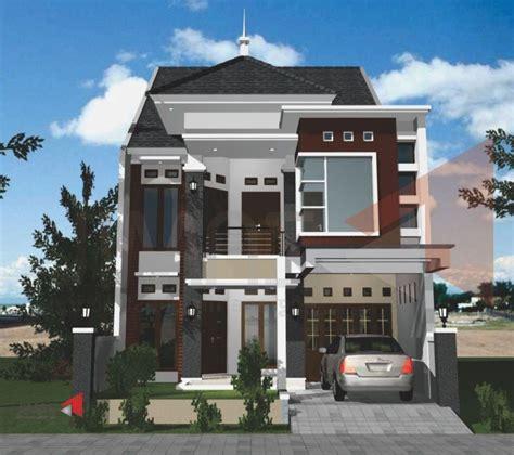 desain interior rumah minimalis lantai dua contoh desain rumah 2 lantai yang modern renovasi rumah net