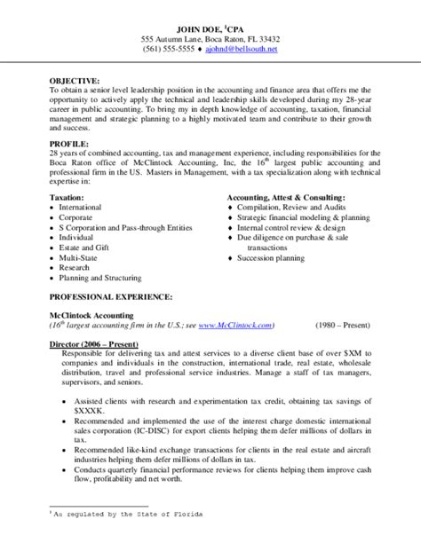 accounting cv template pdf accounting resume sles free templates in pdf and word