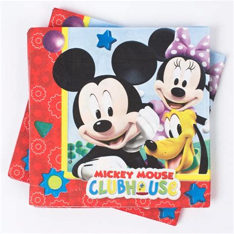 Disney Mickey Tissue Packs disney mickey mouse napkins pack of 20 only 163 2 25