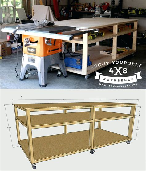 table saw bench plans free table saw table plans thelt co