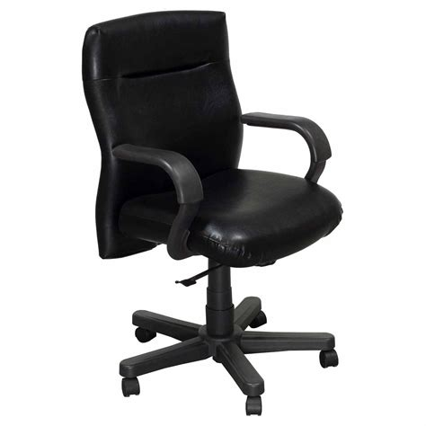 Knoll Bulldog Chair by Knoll Bulldog Used Executive Leather Conference Chair