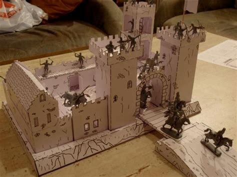 How To Make A Diorama With Paper - papercraftsquare new paper craft castle for
