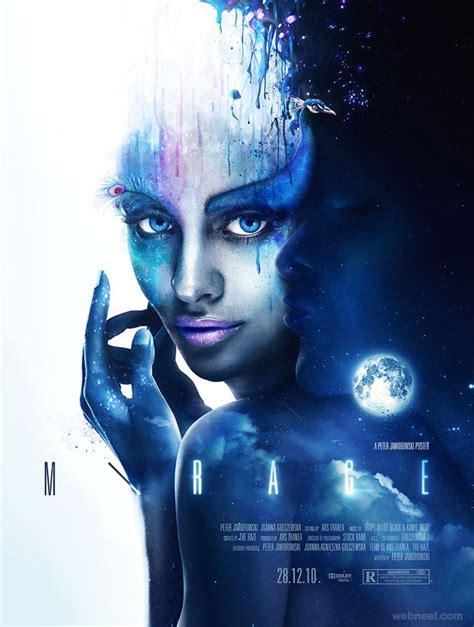 layout artist film mirage creative movie poster design 1