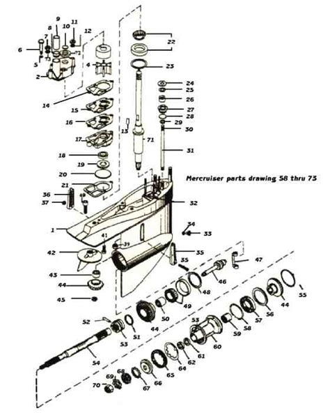 mercruiser sterndrive parts diagram mercruiser alpha 1 schematic mercruiser free engine