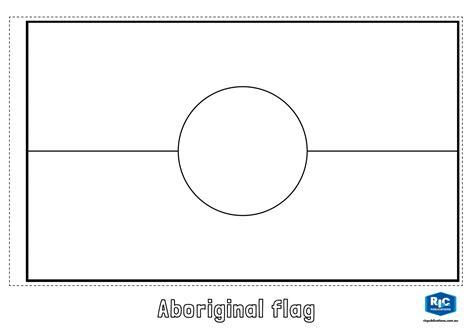 printable aboriginal flag bunting inspiring australia flag template of new zealand coloring
