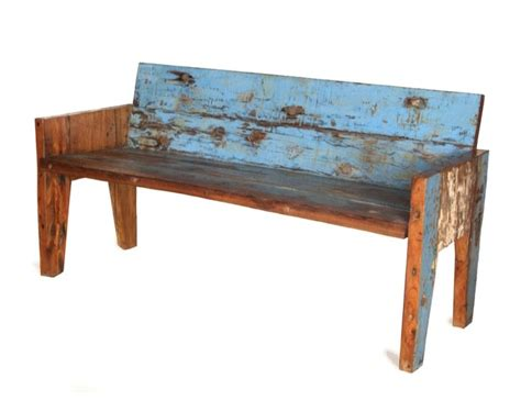 reclaimed wood bench recycled wood bench dyi projects pinterest