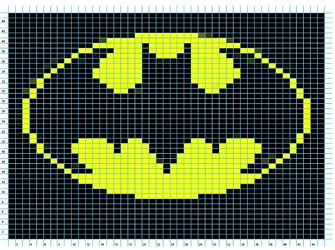 crochet pattern batman logo free crochet batman symbol myideasbedroom com