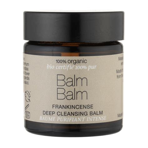 Cleansing Balm by Balm Balm Frankincense Cleansing Balm 100 Organic