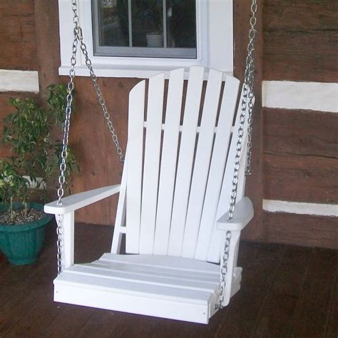 adirondack chair swing amish woodwork