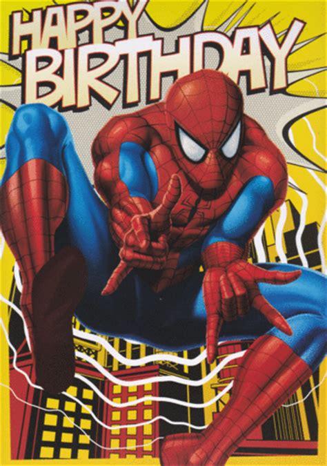 printable birthday card spiderman spider man interactive birthday card retrospace