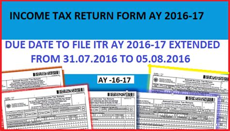 lhdn extension date in 2016 due date for filing itr for ay 2016 2017 extended