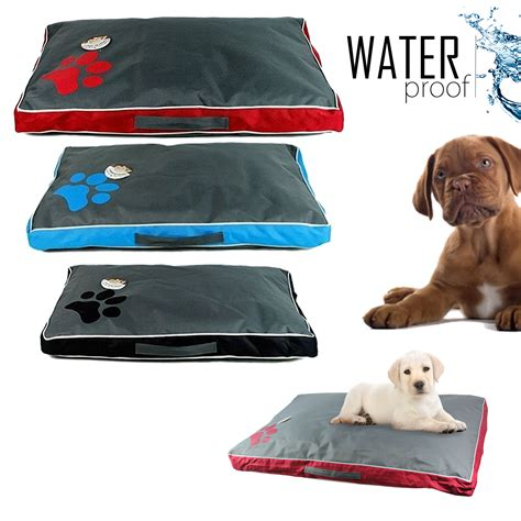 water resistant dog bed double sided dog pet water resistant bed mat cushion