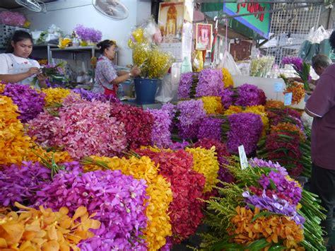 Wholesale Home Decorations bangkok flower market la vie boheme travel