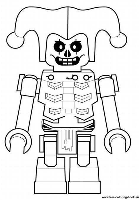 lego robot coloring pages free lego robot coloring pages
