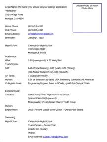 athletic resume template free best resume formats 40 free sles exles format