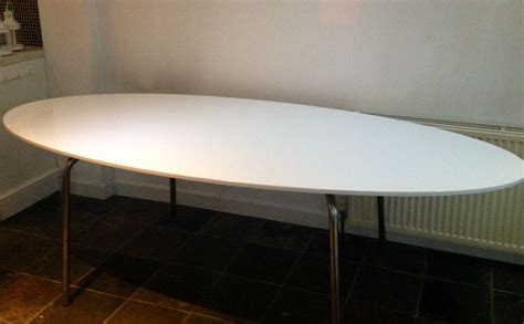 Ikea Oval Dining Table Ikea Gidea White Gloss Oval Dining Table In Norwich Norfolk And Dining Tables Awesome