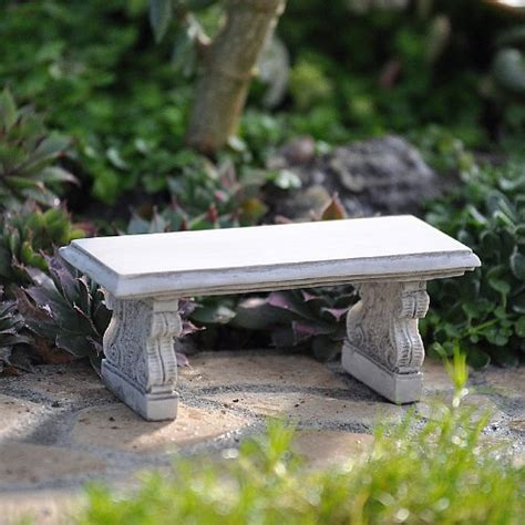 outdoor stone benches miniature fairy garden stone bench playground outdoor