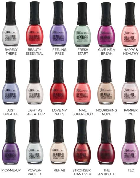 orly nail colors quo by orly breathable nail new orly