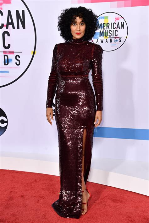 tracee ellis ross red carpet american music awards 2017 red carpet what stars are