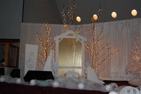 winter stage decorations indian springs baptist church s ministry