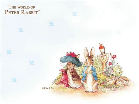 Beatrix Potter Wall Stickers peter rabbit letter paper wallpaper 23 wallcoo net