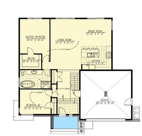 split level open floor plan split level home with open layout 90261pd