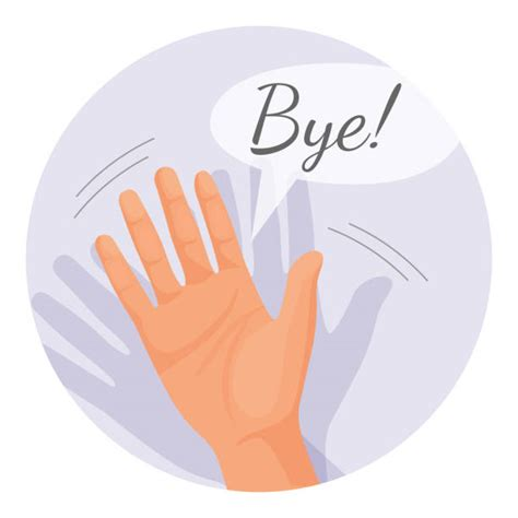 The Waved Bye by Waving Goodbye Clipart Clipartxtras