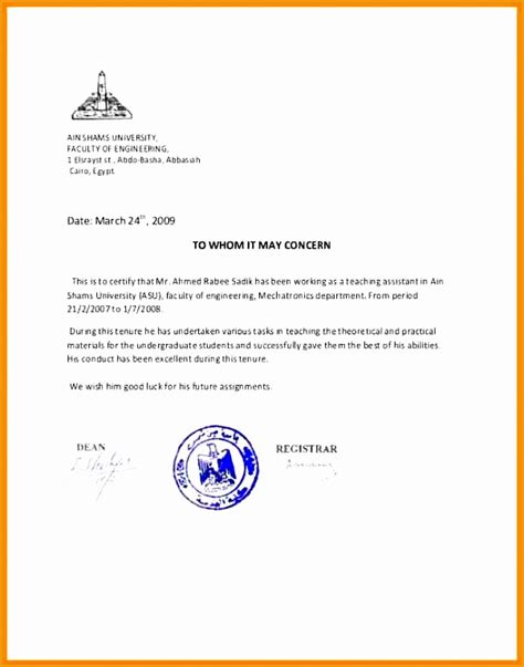 Work Experience Letter Care Home 9 formal resume for nursing free sles exles