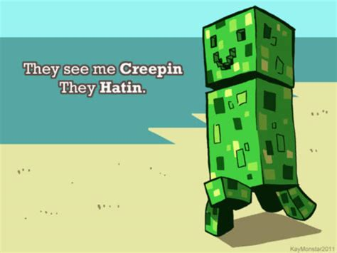 Minecraft Creeper Meme - image 154882 minecraft creeper know your meme