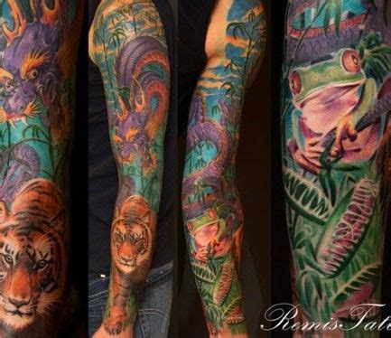 jungle tattoos jungle theme tattoos jungle tattoos themes new