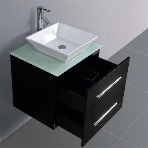 wall mount bathroom sink with cabinet convenience boutique 24 bathroom vanity wall mount