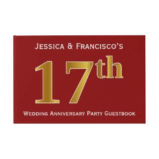17th Wedding Anniversary Gifts   T Shirts, Art, Posters