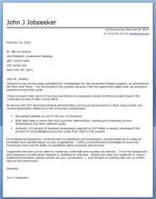 banker cover letter investment banker cover letter sle resume downloads