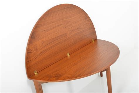 mid century fold out desk danish mid century fold up coffee table for sale at pamono