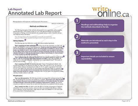 methods section of lab report write online lab report writing guide parts of a lab report