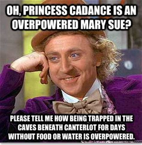 Mary Meme - mary sue test