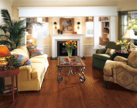 hardwood flooring ideas living room living rooms flooring idea oak cabernet by armstrong