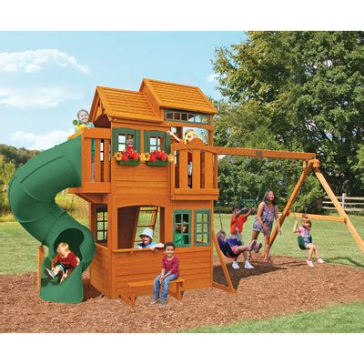 big backyard swing set reviews big backyard grand valley retreat swing set reviews
