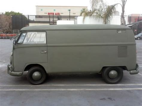 Vw Safari Durable Premium Car Cover Army Green buy used 1966 vw panel in los angeles california united states