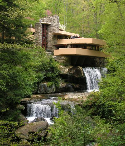 falling water fallingwater usa amazing places