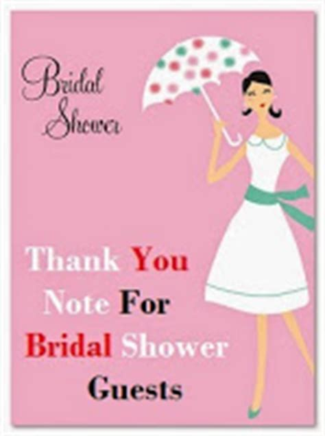 thank you for throwing my bridal shower thank you messages bridal shower