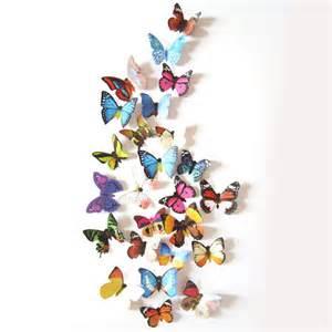 3d Wall Stickers Butterfly 3d Diy Butterfly Wall Sticker Butterfly Home Decor Room