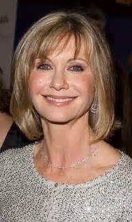 should women over 60 wear bangs olivia newton john long celebrity hairstyles over 60 l www