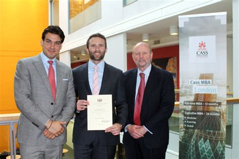 Mba Graduate In The Uk by Mba Graduate Wins Wcib Prize Cass Business School