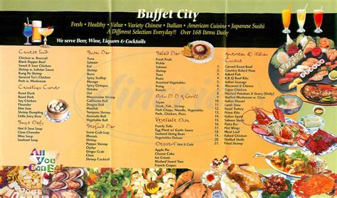 buffet city menu buffet city menu concord dineries