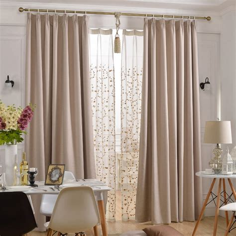 Thermal blackout curtains of eco friendly and soundproof styles